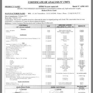 сртификат качества ПДНР
