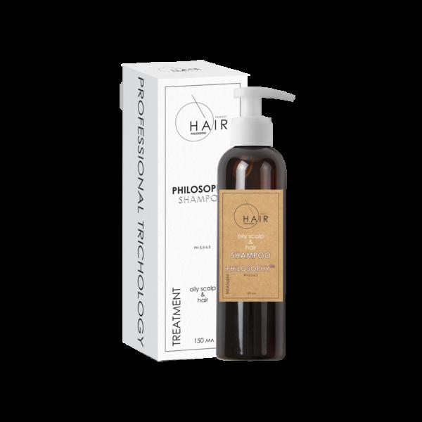 shampoo oily scalp&hair