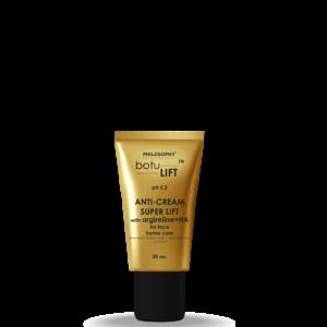 Anti-cream super lift with argireline + HA for face home care