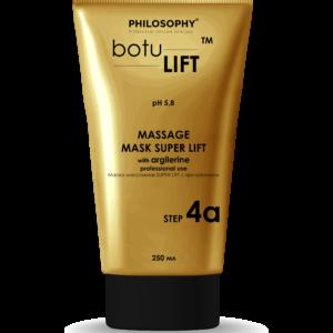 Massage Mask super lift with argilerine for professional use