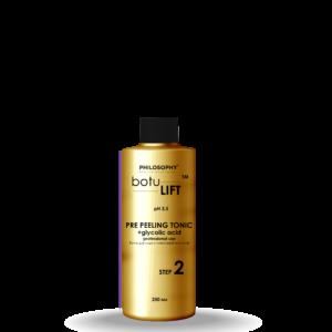 Pre Peeling Tonic + glycolic acid professional use